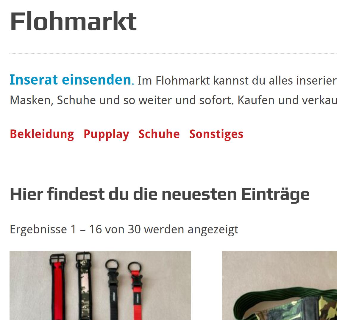 Flohmarkt Update & News